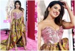 Priyanka Chopra In Vivienne Westwood Couture @ 'Isn't it Romantic' LA Premiere