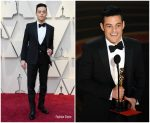 Rami Malek  In Saint Laurent by Anthony Vaccarello @ 2019 Oscars