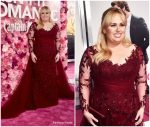 Rebel Wilson In Paolo Sebastian @ 'Isn't it Romantic' LA Premiere