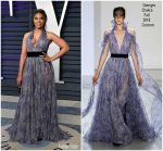 Regina Hall  In Georges Chakra  Couture @ 2019 Vanity Fair Oscar Party