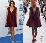 Regina King In Valentino  @ 2019 Film Independent Spirit Awards