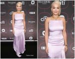 Rita Ora In Escada @ Warner Music Pre-Grammy Celebration