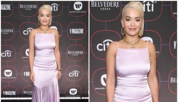 Rita -Ora- In -Escada-  Warner- Music- Pre-Grammy -Celebration