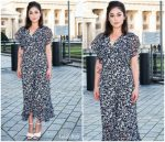 Rosa Salazar In  Michael Kors Collection @ 'Alita: Battle Angel'  Berlin Photocall