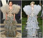 Rowan Blanchard In Rodarte @  2019 Vanity Fair Oscar Party