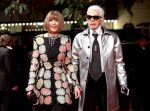Anna Wintour Pay Tribute To Karl Lagerfeld
