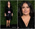 Salma Hayek In Gucci @ Charles Finch & Chanel pre-BAFTA's Dinner  2019
