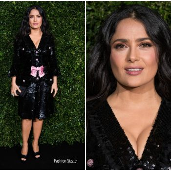 salma-hayek-in-gucci-CHARLES-finch-chanel-pre-baftas-dinner-2019