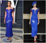 Sara Sampaio  In Armani Prive  Couture  @ 2019 Vanity Fair Oscar Party
