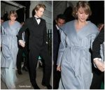 Taylor Swift In Max Mara Leaving  BAFTAs After Party