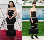 Tessa Thompson In Chanel Haute Couture @ 2019 Oscars