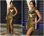 Vanessa Hudgens In Dundas @  2019 Vanity Fair Oscar Party