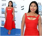 Yalitza Aparicio In  Miu Miu  @ 2019 Film Independent Spirit Awards