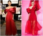 Zendaya Coleman In Alexis Mabille Haute Couture @ Vanity Fair and Lancôme Toast Women In Hollywood