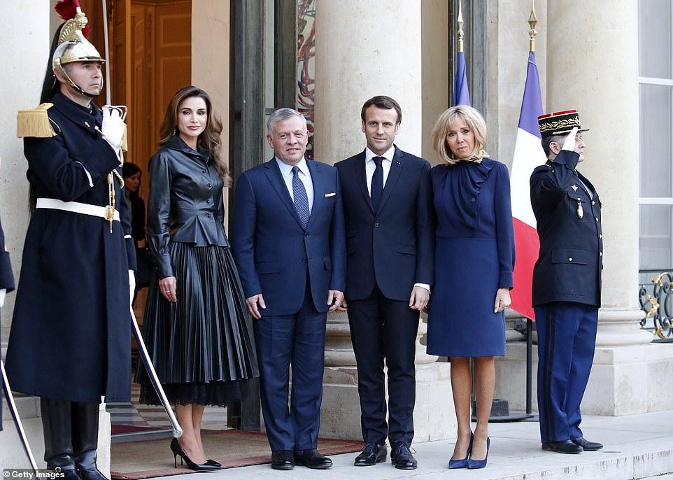 french-president-emmanuel-macron-receives-king-abdullah-ii-of-jordan-elysee-palace-in-paris