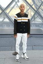 Jaden Smith In Louis Vuitton @ Paris Fashion Week Womenswear Fall/Winter 2019/2020