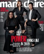 US Marie Claire April 2019 : Ava DuVernay, Jessica Chastain & Constance Wu by Amanda Demme