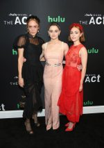 Chloë Sevigny (in Simone Rocha), Joey King (in Markarian), and AnnaSophia Robb (in Simone Rocha) @ 'The Act' New York Premiere