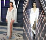 Adriana Lima In Ralph & Russo Couture 2019 Vanity Fair Oscar Party