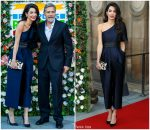 Amal Clooney In Stella McCartney @ People's Postcode Lottery Charity Gala