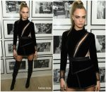 Cara Delevingne In Aadnevik @ The Times Square Edition Premiere