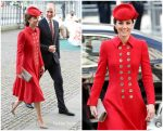 Catherine, Duchess of Cambridge In Catherine Walker @  Commonwealth Day 2019