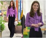 Catherine, Duchess of Cambridge In Gucci & Jigsaw @ The Henry Fawcett Children's Centre Visit