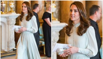 catherine-duchess-of-cambridge-in mint-dress-50th-anniversary-of-the-investiture-of-the-prince-of-wales