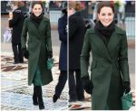 Catherine, Duchess of Cambridge In Sportmax &  Michael Kors @ Blackpool Visit In England