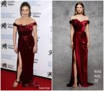 Catherine Zeta Jones In Marchesa @ The Royal Welsh College of Music & Drama 2019 Gala