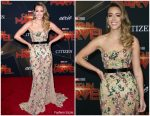 Chloe Bennet In Galia Lahav @  'Captain Marvel' LA Premiere