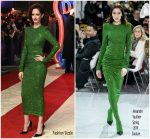 Eva Green In Alexandre Vauthier Haute Couture @ 'Dumbo' London Premiere
