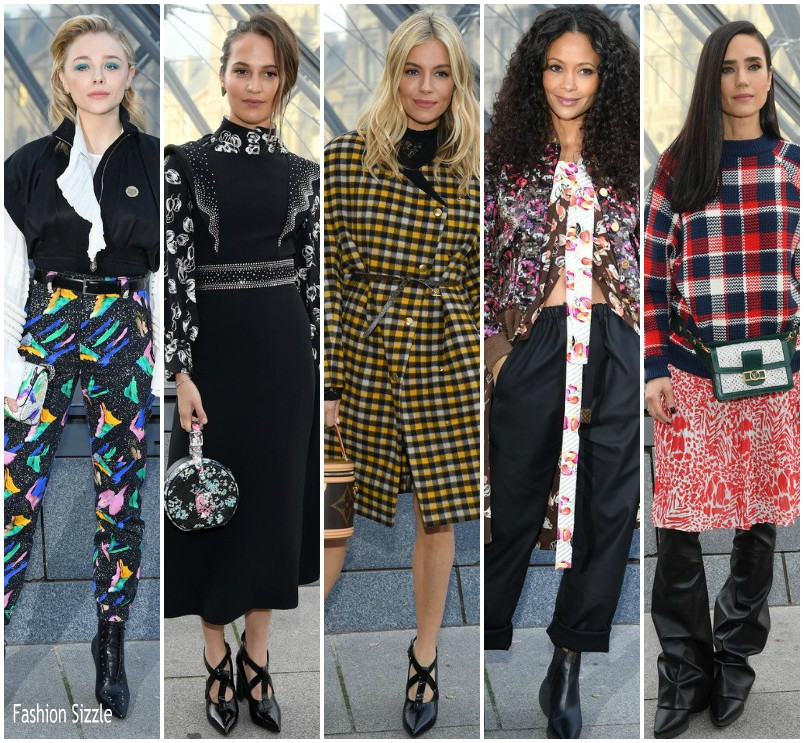 Front Row Louis Vuitton Fall 2019 Fashionsizzle