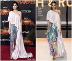 Gemma Chan In Ralph & Russo Couture @ 'Captain Marvel' LA Premiere
