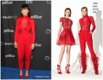 Ginnifer Goodwin  In Zuhair Murad @  'The Twilight Zone' PaleyFest Panel