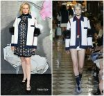 Gwendoline Christie  In   Miu Miu  @ Miu Miu Fall 2019