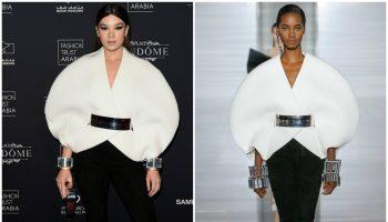 hailee-steinfeld-in-balmain-doha-fashion-trust-arabia-gala