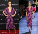 Haley Lu Richardson  In  Prabal Gurung  @  'The Chaperone' New York Premiere