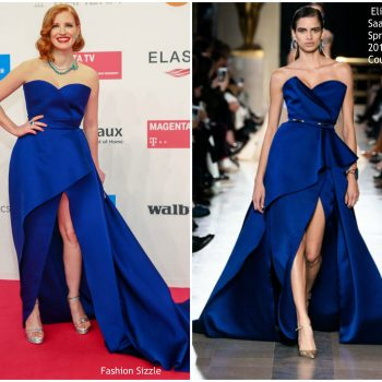 jessica-chastain-in-elie-saab-couture-golden-camera-awards-2019