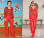Joey King In Jacquemus @ Nickelodeon's 2019 Kids' Choice Awards