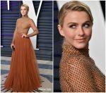 Julianne Hough In J. Mendel @  Vanity Fair Oscar Party