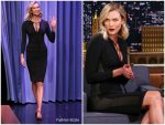 Karlie Kloss In Tom Ford @ The Tonight Show Starring Jimmy Fallon