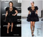 Kate Beckinsale  In Giambattista Valli  Couture @ The Widow New York  Premiere