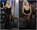 Lady Gaga In Khyeli @ Jimmy Kimmel Live!