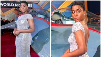 lashana-lynch-in-jovani-captain-marvel-la-premiere