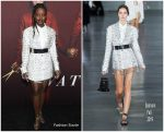 Lupita Nyong'o In Balmain @ 'Us' New York Premiere
