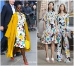Lupita Nyong'o In Prabal Gurung @  Good Morning America