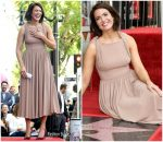 Mandy Moore  In Emilia Wicksted  @ Hollywood Walk Of Fame Ceremony