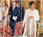 Meghan, Duchess of Sussex In Amanda Wakeley @ The 50th Anniversary Of The Investiture Of The Prince of Wales