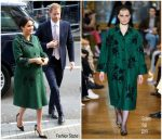 Meghan, Duchess Of Sussex In Erdem @ Commonwealth Day Youth Event